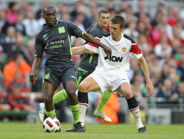 Michael Carrick and Joseph Ndo