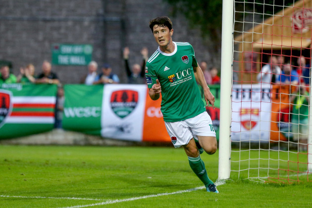 Ronan Coughlan celebrate a goal