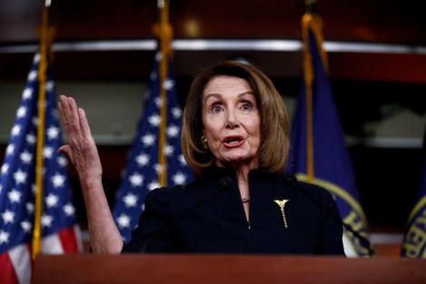 U.S.-WASHINGTON D.C.-HOUSE SPEAKER-NANCY PELOSI