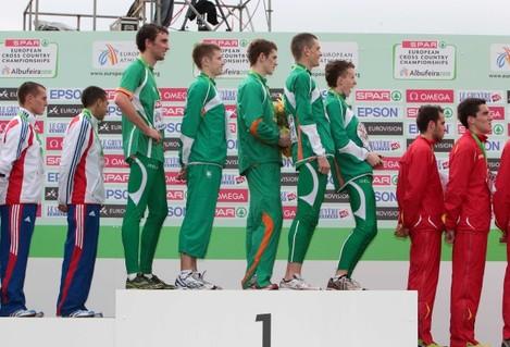 John Coghlan, David Rooney. Michael Mulhare, David McCarthy and Brendan O'Neill (missing, Ciaran O'Lionaird)