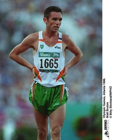 Niall Bruton Olympic Games, Atlanta 1996.