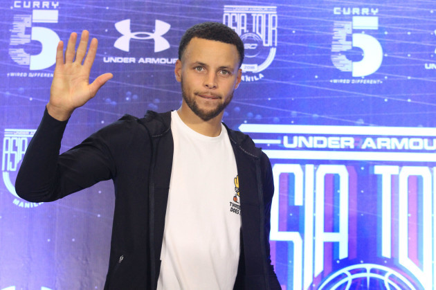 NBA Star Steph Curry Manila Visit