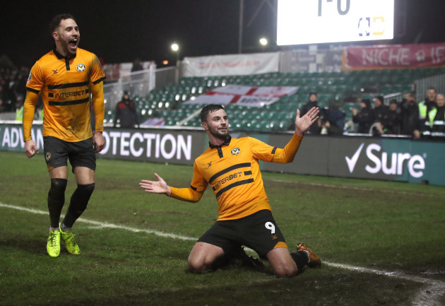 Newport County v Middlesbrough - FA Cup - Fourth Round - Replay - Rodney Parade