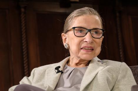NY: U.S. Supreme Court Justice Ruth Bader Ginsburg at NY Academy of Medicine