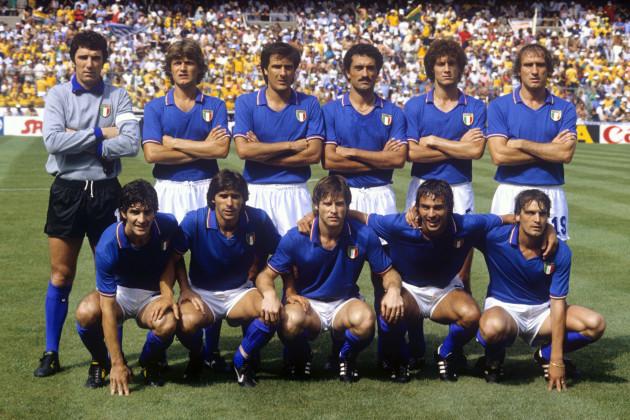 Soccer - World Cup Spain 82 - Group C - Brazil v Italy - Estadi de Sarria