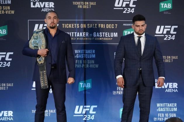UFC 234 MEDIA OPP