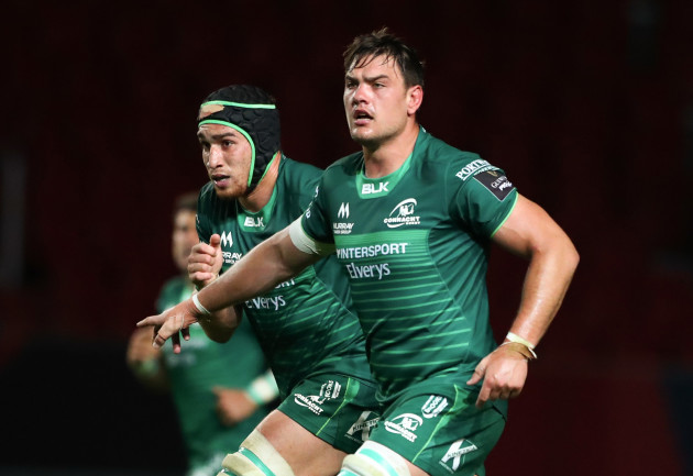 Ultan Dillane and Quinn Roux