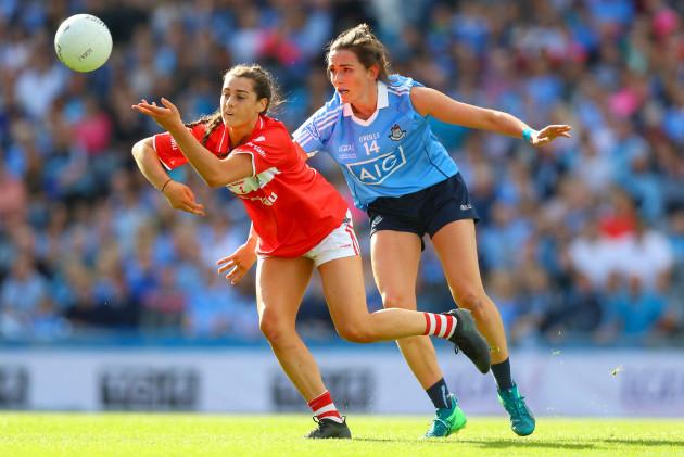 Niamh McEvoy with Eimear Meaney