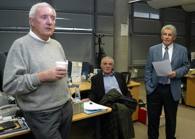 Eamon Dunphy and John Giles 13/4/2005