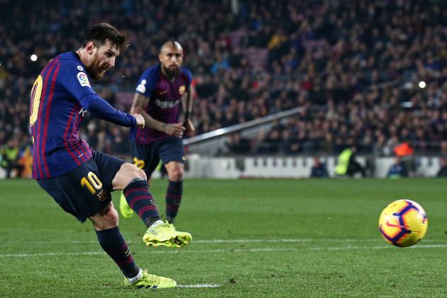 Spain - FC Barcelona against Valladolid CF - Liga Santander - 2018/19 - Round 24