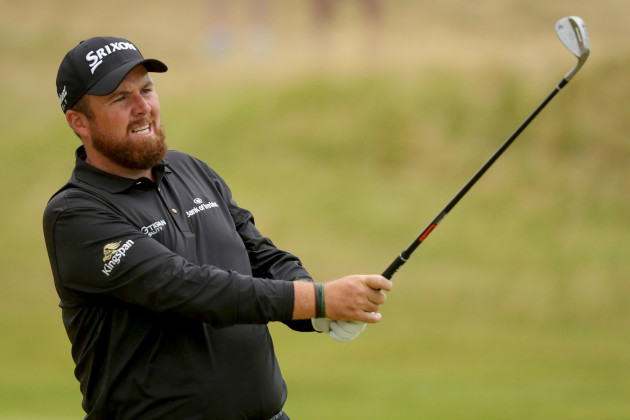 Shane Lowry on the 9th