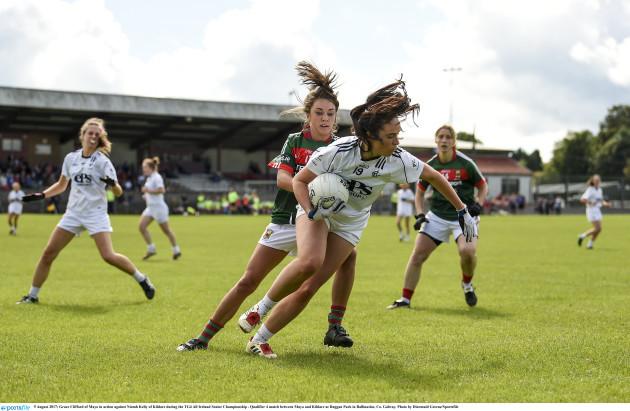 Mayo v Kildare - Mayo v Kildare - TG4 All Ireland Senior Championship - Qualifier 4