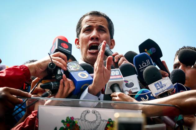 Political crisis in Venezuela - Juan Guaido