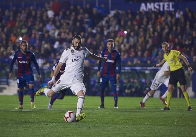 SOCCER: FEB 24 La Liga - Real Madrid CF at Levante UD