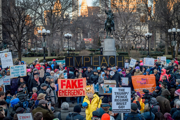NY: Activists Denounce Fake National Emergency