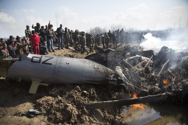 KASHMIR-SRINAGAR-AIRCRAFT CRASH