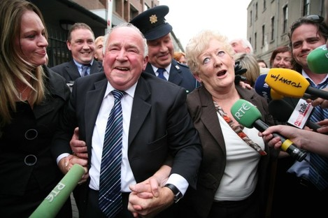 File Photo THE devastated family of innocent mum Rachel Callaly has revealed their torment over evil killer Joe OÕReillyÕs fresh bid for freedom. Heartbroken Paul Callaly, 46, and his family now have to write to the Irish Prison Service outlining their ob
