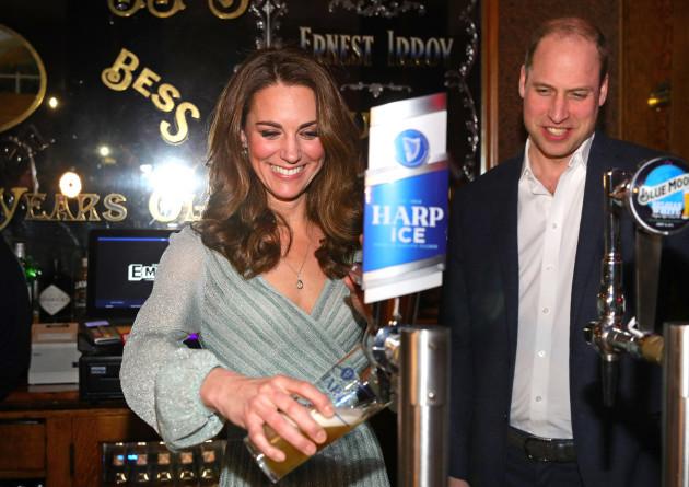 Duke and Duchess of Cambridge visit to NI - Day 1
