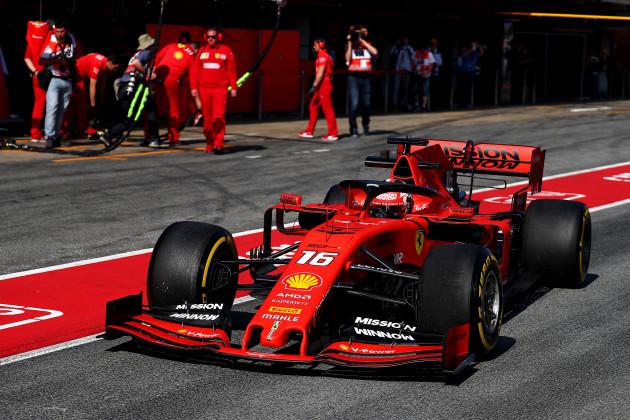 Italy: Formula 1 Test 2019