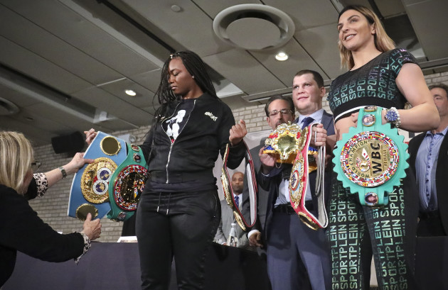 Shields and Hammer get ball rolling for women's superfights