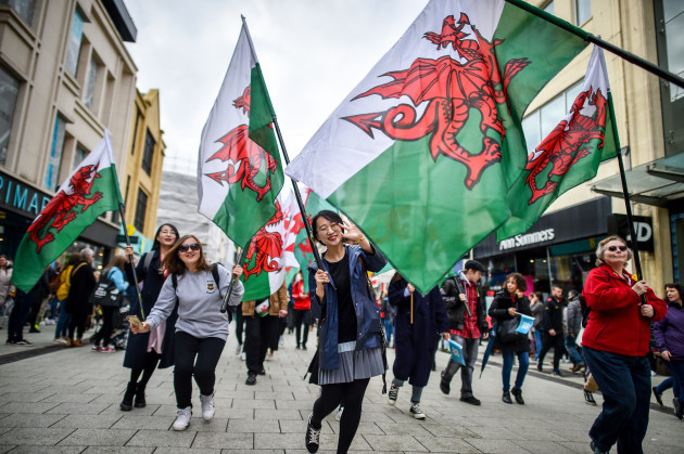 St David's Day celebrations