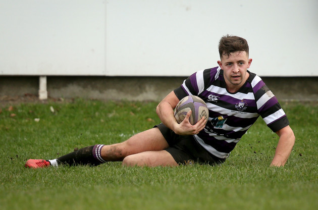 Jake Swaine scores a try