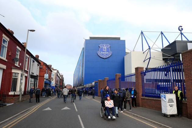 Everton v Cardiff City - Premier League - Goodison Park