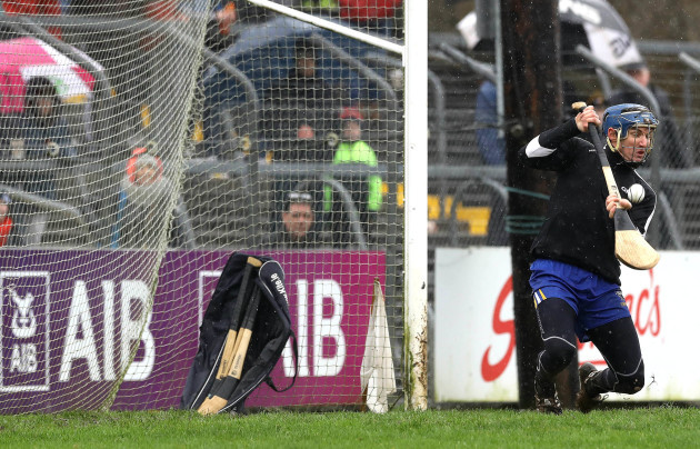 Donal Tuohy saves a penalty