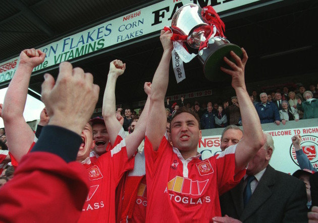 John McDonnell  St. Patrick's Athletic  League of Ireland Champions 1996