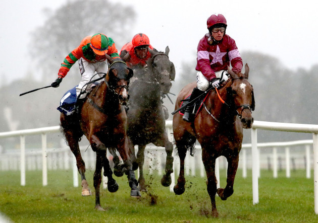 Woods Well ridden by Mark Enright on his way to winning the TRI Equestrian Handicap Chase