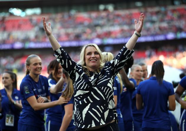 Arsenal Women v Chelsea Ladies - SSE Women's FA Cup Final - Wembley Stadium