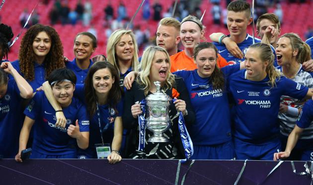 United Kingdom: Arsenal Women v Chelsea Ladies - SSE Women's FA Cup Final