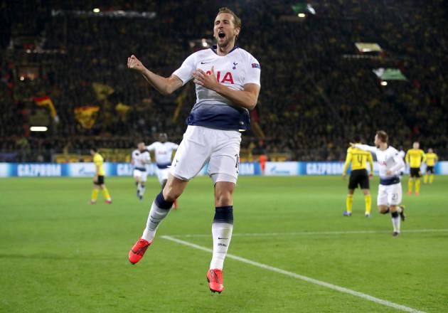 Borussia Dortmund v Tottenham Hotspur - UEFA Champions League Round of Sixteen - Second Leg - Signal Iduna Park