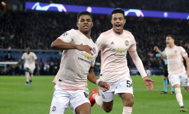 ed2eab031b1e Paris Saint-Germain v Manchester United - UEFA Champions League - Round of  16 -