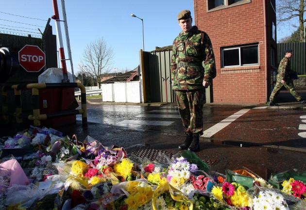 Soldiers shot dead