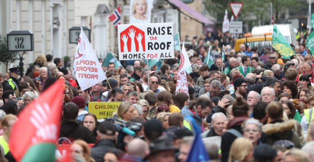 Raise the Roof protest