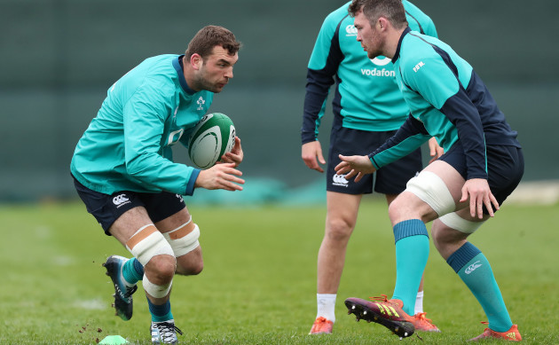 Tadhg Beirne and Peter O'Mahony