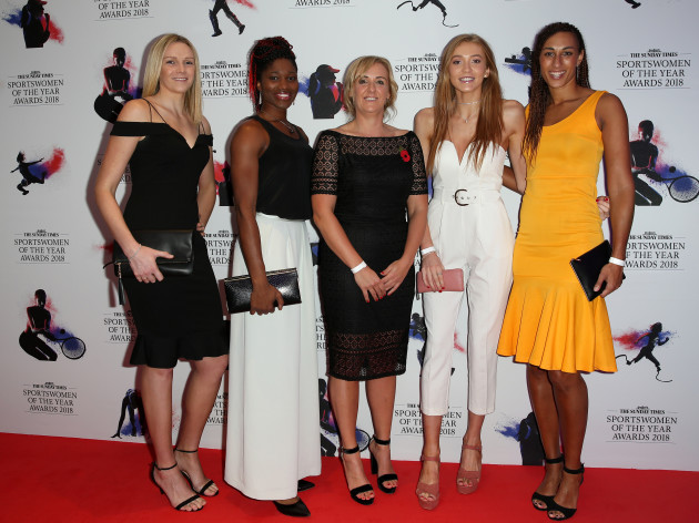 Sunday Times Sportswomen of the Year Awards 2018 - The News Building