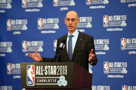 NBA: Commissioner-Press Conference