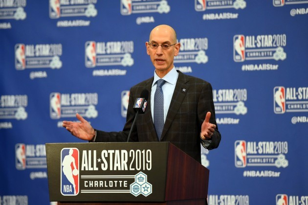 NBA: Commissioner-Press Conference
