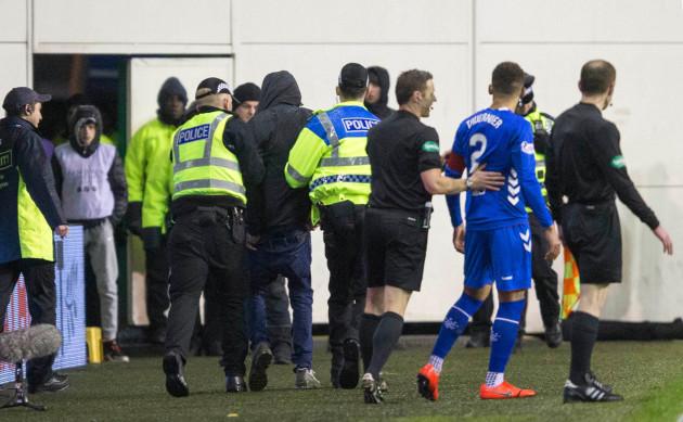 Hibernian v Rangers - Ladbrokes Scottish Premiership - Easter Road