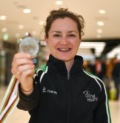 Lydia Boylan Track Cycling World Championships Homecoming