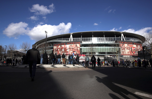 Arsenal v Manchester United - Premier League - Emirates Stadium