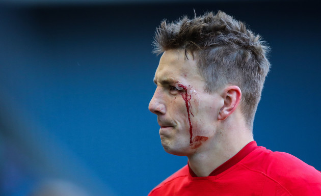Jonathan Davies after the game