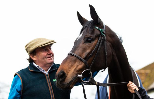 Nicky Henderson Stable Visit - Lambourn