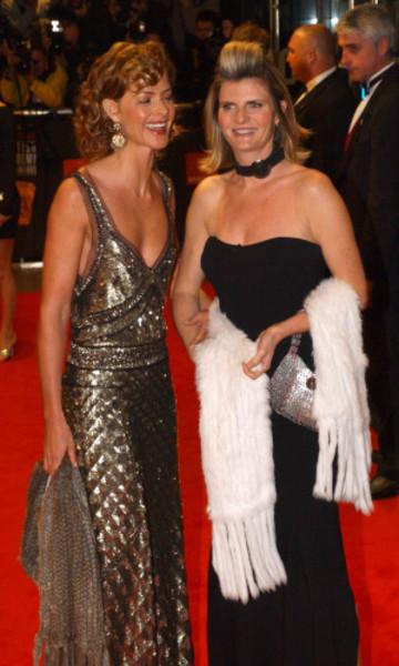 ORANGE BAFTAS Trinny & Susannah
