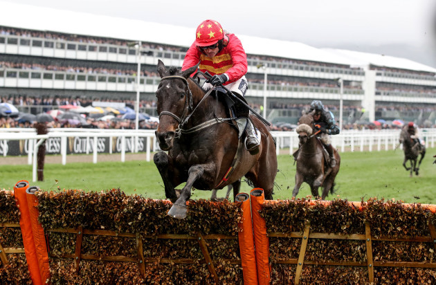 Ruby Walsh on Klassical Dream wins the Sky Bet Supreme Novices' Hurdle