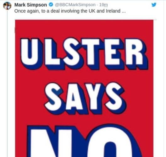Ulster says no