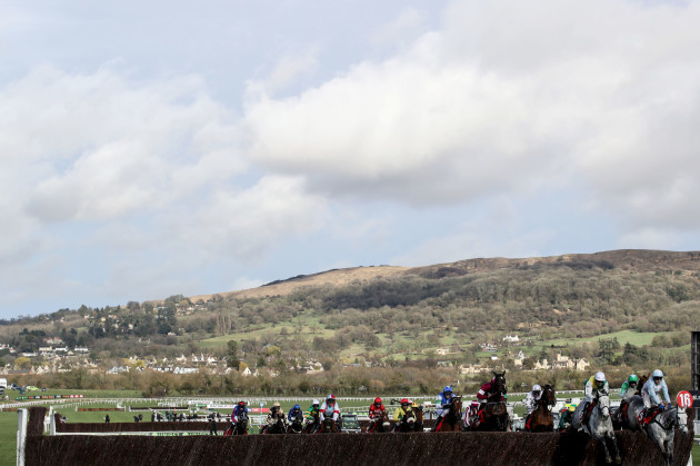 A general view of the Ultima Handicap Chase