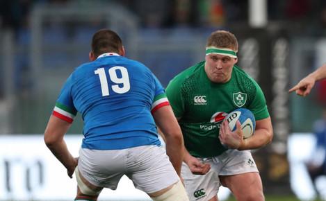 Ireland's John Ryan